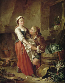 The Beautiful Kitchen Maid by Francois Boucher