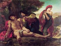 St. Sebastian, 1836 by Ferdinand Victor Eugene Delacroix