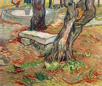 The Bench at Saint-Remy, 1889 von Vincent Van Gogh