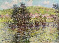 Vetheuil, View from Lavacourt by Claude Monet