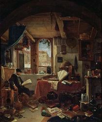 An Alchemist in his Laboratory