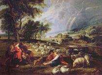 Landscape with a Rainbow von Peter Paul Rubens