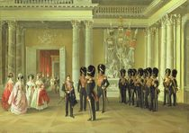 The Heraldic Hall in the Winter Palace by Adolphe Ladurner
