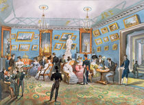 A Society Drawing Room, c.1830 by Karl Ivanovich Kolmann