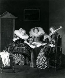 Musical scene, 1637 by Dirck Hals