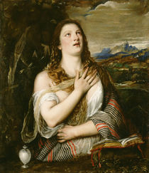 The Penitent Magdalene, c.1555-65 by Titian