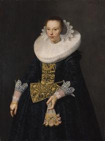 Portrait of a Young Woman, 1632 von Nicolaes Eliasz