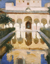 Hall of the Embassadors, Alhambra von Joaquin Sorolla y Bastida