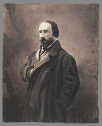 Auguste Vacquerie, c.1865 von Nadar