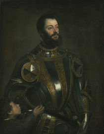 Portrait of Alfonso d'Avalos by Titian
