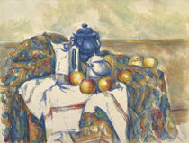 Still Life with Blue Pot, c.1900 by Paul Cezanne