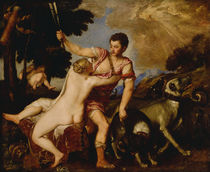 Venus and Adonis, c.1555-60 by Titian
