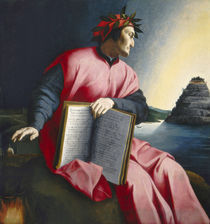 Allegorical Portrait of Dante by Florentine School