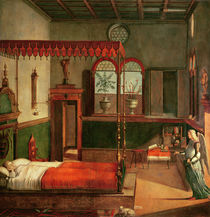 Dream of St.Ursula, 1495 by Vittore Carpaccio
