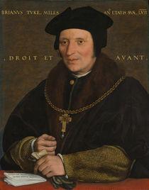 Sir Brian Tuke, c.1527-8 or c.1532-34 von Hans Holbein the Younger
