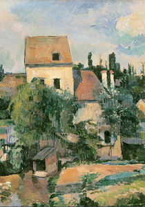 Moulin de la Couleuvre at Pontoise von Paul Cezanne