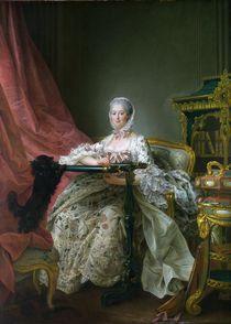 Madame de Pompadour, 1763-64 von Francois-Hubert Drouais