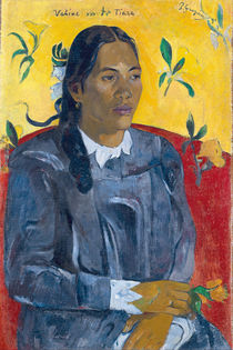 Vahine No Te Tiare , 1891 by Paul Gauguin