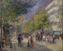 The Boulevards , 1875 by Pierre-Auguste Renoir