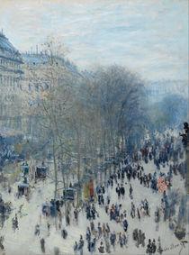 Boulevard des Capucines, 1873-4 by Claude Monet