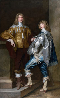 Lord John Stuart and his brother von Anthony van Dyck
