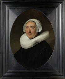 Portrait of Haesje Jacobsdr van Cleyburg von Rembrandt Harmenszoon van Rijn