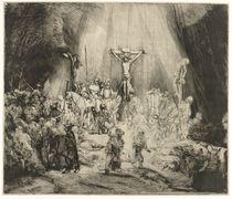 The Three Crosses, 1653 von Rembrandt Harmenszoon van Rijn