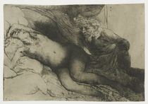 Jupiter and Antiope, c.1659 by Rembrandt Harmenszoon van Rijn