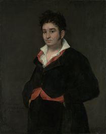 Portrait of Don Ramon Satue by Francisco Jose de Goya y Lucientes