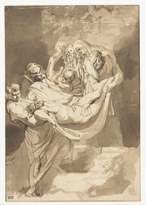 Deposition of Christ in tomb von Peter Paul Rubens