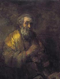 Homer Dictating to a Clerk von Rembrandt Harmenszoon van Rijn