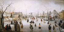 Ice Sports, c.1610 von Hendrik Avercamp