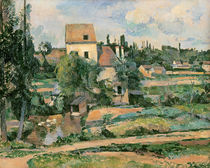 Moulin de la Couleuvre at Pontoise by Paul Cezanne