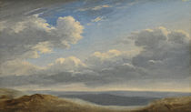Study of Clouds over the Roman Campagna c.1782-85 by Pierre Henri de Valenciennes
