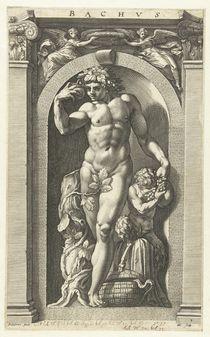 Bacchus, 1592 von Hendrik Goltzius