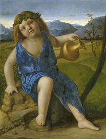 The Infant Bacchus, c.1505-10 by Giovanni Bellini