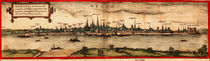 View of Mainz, 1572 von Georg and Hogenberg, Franz Braun