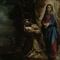 The Vision of Saint Francis of Assisi by Lodovico Carracci