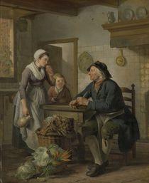 Morning Visit, 1796 by Adriaen de Lelie