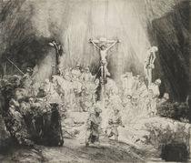 The Three Crosses, 1653 by Rembrandt Harmenszoon van Rijn