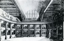 The Theatre of Jacob van Campen see from the stage von Dutch School