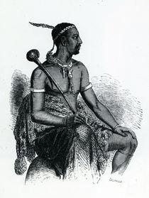 King Moshoeshoe I 1833 von French School