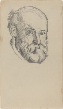 Self-Portait, c.1880-2 by Paul Cezanne