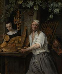 The Baker Arent Oostwaard and his Wife Catherina Keizerswaard by Jan Havicksz Steen