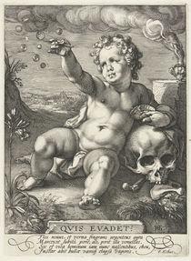 Homo Bulla, 1594 by Hendrik Goltzius