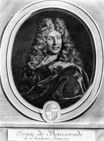 Isaac de Bensserade von Gerard Edelinck
