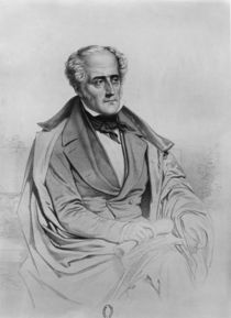Portrait of Chateaubriand by Marie Alexandre Alophe