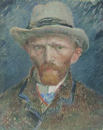 Self-portrait, 1887 von Vincent Van Gogh