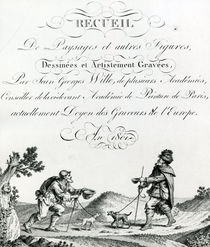 Recueil de Paysages et autres figures by French School