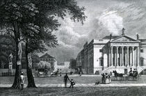 The Opera house, Berlin, 1833 von German School
